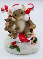 "Fitz & Floyd Charming Tails ""Secrets for Santa"" #87/119 - Great Uc"