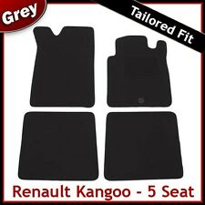 RENAULT KANGOO 5-Seats 2003 2004 2005 2006...2008 Tailored Carpet Car Mats GREY