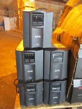 lot of 5 OEM APC smart UPS model SMT1500 (No battery)