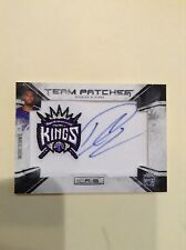 2010-2011 Rookies and Stars Demarcus Cousins Auto Rookie jersey patch #/454