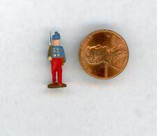 "Miniature Dollhouse Civil War Soldier Figurine 7/8"" H"