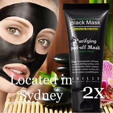 2X SHILLS Blackhead Remover Mask Black Face Pore Nose Strip Deep Cleansing Mud