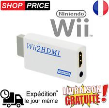 Wii HDMI adaptateur convertisseur Full HD 1080P / 720P pour Nintendo Wii et WiiU