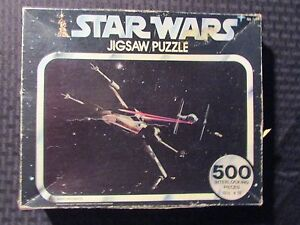 1977 STAR WARS Kenner 40110 Jigsaw Puzzle 500 Pieces (Missing 3 pcs) VG 4.0