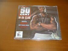 50 Cent In Da Club CD Single