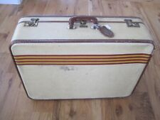 Oshkosh Suitcase w Luggage Tag Vintage