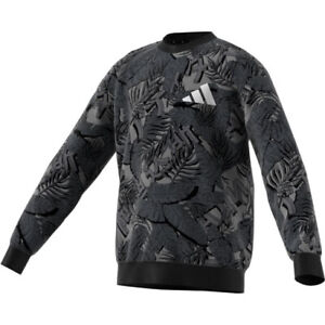 Adidas Athletics Pack Crew Sweatshirt Age 13-14 years In Black (FM4827)
