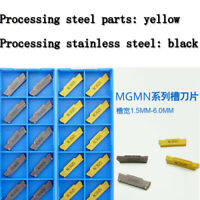 MGMN150-G NC3020+PC9030 1.5mm wide Grooving cut-off CNC Carbide milling Insert