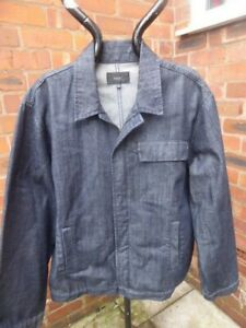 mens NEXT denim jacket - size XL great condition
