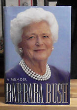 BARBARA BUSH SIGNED A MEMOIR 1994 WHITE HOUSE YEARS FIRST LADY AUTOBIOGRAPHY