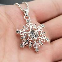 Gift Women's Accessories Silver Plated Jewelry Pendant Necklace