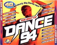 THE BEST OF DANCE 94 - 2 X CDS UNMIXED 90S HOUSE TRANCE DANCE CHART CDJ DJ