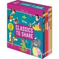 NEW Disney Classics to Share 5 Storybooks Collection Kids Stories Books Gift Set