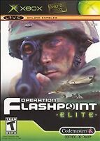 Operation Flashpoint: Elite (Microsoft Xbox, 2005) w/ Manual