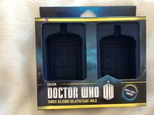 Doctor who    tardis    jelly and  cake moulds