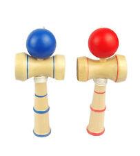 Child Kid Adult Kendama Ball Wood Wooden Skill Educational Toy Bilboquet Game