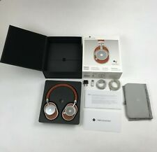 MASTER & DYNAMIC MW65 NOISE CANCELLING WIRELESS HEADPHONES MW65S2B BROWN NEW