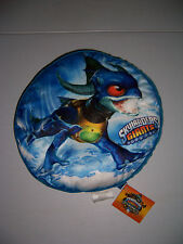 "SKYLANDERS GIANTS 15"" ROUND PLUSH PILLOW WITH POUCH NEW!"