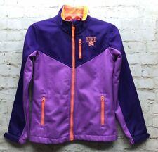 Nike Girls Track Jacket Size Large Purple Orange GUC
