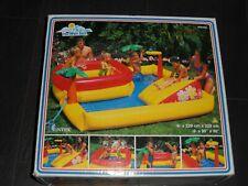 Spielcenter Badeinsel Pool von Intex #58466 aufblasbar Playcenter The wet set