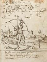 FRENCH EARLY 16TH CENTURY YOU ARE SHOOTING HEAVEN OLD ART PAINTING PRINT BB5386A