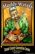 Muddy Waters Poster by Cadillac Johnson