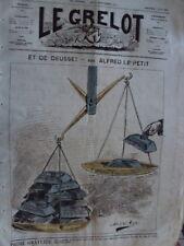LE GRELOT ET DE DEUSSE ! A. LE PETIT N° 165 JUIN 1874