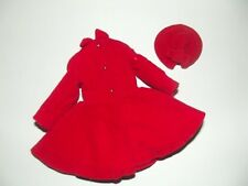 SKIPPER Barbie Coat & Hat DRESS COAT #1906 from 1964 Very Good Condition TAGGED