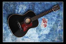 **GFA* Vegas Girl *CONOR MAYNARD* Signed Acoustic Guitar M4 PROOF COA**