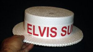 1970S ELVIS PRESLEY SUMMER FESTIVAL PROMOTIONAL HAT (RED) UNUSED FREE SHIPPING!!