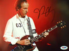 ROBBY KRIEGER THE DOORS AUTHENTIC 8 x 10 inch SIGNED PHOTO PSADNA COA MORRISON