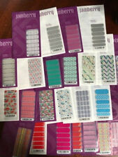 Lot of Vintage/Retired Jamberry Nail Wraps - 25 Full sheets - NIP