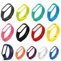 Best For Xiaomi Mi Band 4/3 Silicone Bracelet Strap Wrist Watch Band Replacement