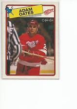 ADAM OATES 1988-89 OPC O-Pee-Chee Hockey card #161 Detroit Red Wings NR MT