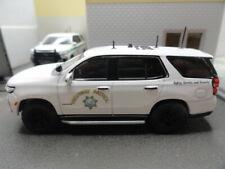 GREENLIGHT POLICE 2021 CHEVY TAHOE CALIFORNIA HIGHWAY PATROL (CHP) POLAR BEAR