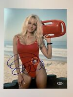 Pamela Anderson autographed 11x14 photo Baywatch signed Beckett Witnessed BAS