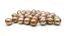 AAA Multicolor Real Freshwater Cultured Kasumi Loose Pearl Undrilled 1pc 11-13MM