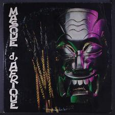 "VOICES OF AFRICA: Masque D'afrique LP (4"" split top seam, corner bend, some cov"