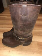 Mossimo Supply Brown Mens Western Buckle Cowboy Boots Size 11/ 9.5-10