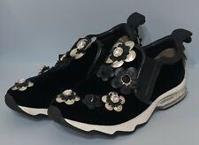 FENDI Flowerland Slip-On Sneaker Skate Ballet Flat Shoes  size 38 US 7,5