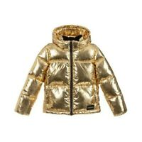 Calvin Klein Jeans Gold Puffer Jacket Bambini IG0IG00279 705 Gold