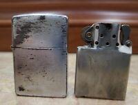 VINTAGE ZIPPO Lighter Pat. 2032695 / new & original inserts