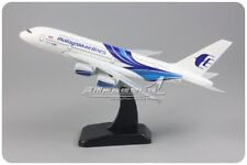 20CM Solid Malaysia AIRLINES AIRBUS A380 Passenger Airplane Plane Diecast Model