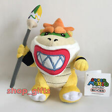 """New Super Mario Bros Wii Plush Bowser Koopa Jr. with Mask Soft Toy Doll Teddy 7"""""""