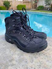 Lowa Goretex Mono Wrap Mens 15 Renegade GTX Mid Black Work Boots