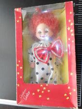 Gabar CLOWN Pagliaccio Fiocco Augusto Doll Italy Vintage Doll