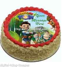 Cake topper edible image icing Tree Fu Tom REAL FONDANT