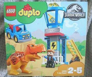 LEGO DUPLO 10880 JURASSIC WORLD T-REX DINISAUR - NEW SEALED RETIRED SET