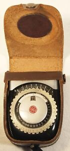 GENERAL ELECTRIC Exposure Meter Type PR-1 with Case