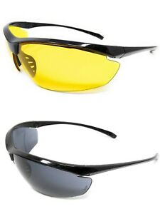 Global Vision Military Ballistics Spec Shooting Safety Glasses 1 Yellow 1 Tinted